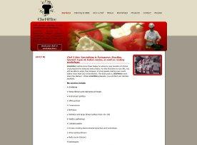 Webdesign: Chef 4 Hire - Full service catering aan huis
