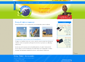 Webdesign: Energy Minded - Website Energy Minded: plaatsing van zonnepanelen in Nederland
