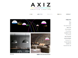 Webdesign: Axiz - Creative Lighting - AXIZ
